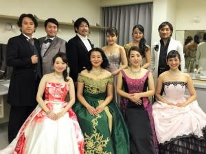 所沢ミューズ ニューイヤー・オペラ・ガラ・コンサート2016 出演者の皆さん
